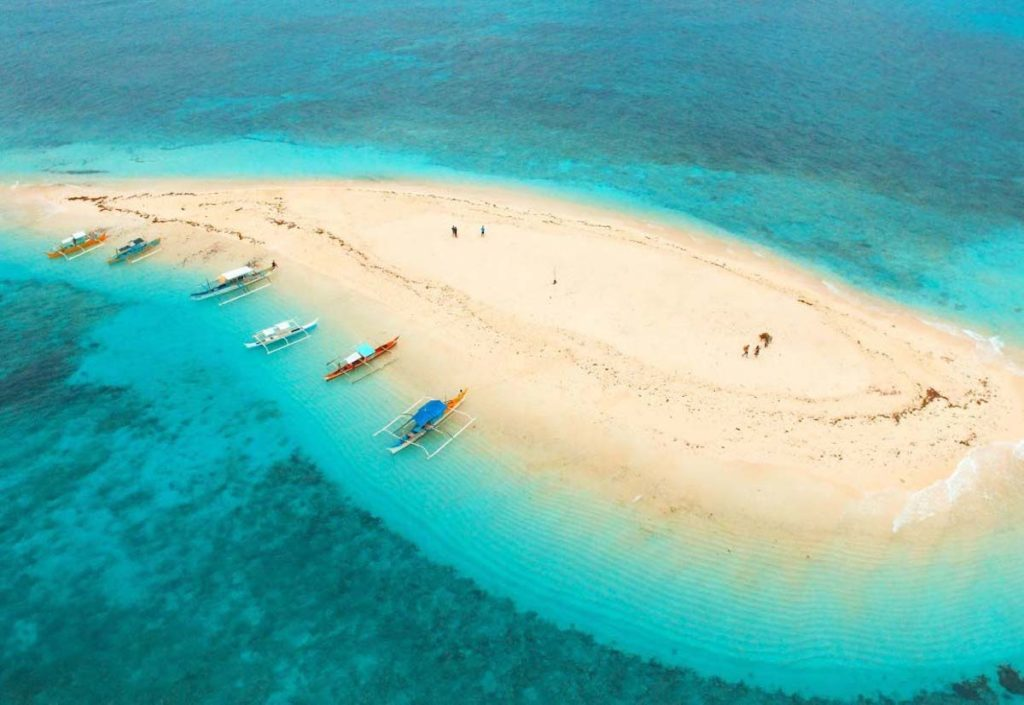 Naked Island - Siargao Philippines Sand Bank - Best things